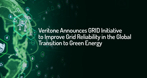 Veritone announces a new Grid Reliability in Device (GRID) asset modeling and control initiative to make the company's technology the standard for intelligent autonomous grid control, optimization and resilience. (Graphic: Business Wire)