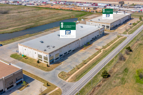 Located within Oklahoma City's vibrant Southwest Industrial Market, Fort Worth-based Corinth Land Co. and Dallas-based Prattco Creekway Industrial (PCI) have acquired two Class A commercial buildings on 14.3 acres at 6200 & 6220 SW 29th St. This is the 10th partnership acquisition for Corinth Land and PCI, marking an investment of more than $50 million and approximately 700,000 SF of industrial space in their portfolio. (Photo: Troy Grant, Epic Foto Group)