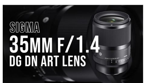 Sigma 35mm f/1.4 DG DN Art Lens. (Photo: Business Wire)