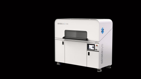 The Stratasys H350 3D printer is designed for the production of thousands of parts as additive manufacturing at higher volumes gains momentum in the industry. (Photo: Business Wire)