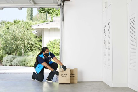 Key by Amazon In-Garage Grocery Delivery is now available in more than 5,000 U.S. cities and towns. (Photo: Business Wire)