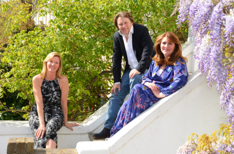(L-R): Tara O'Donnell, Managing Director of Hotwire UK, Mike Butler, Managing Director of McDonald Butler Associates (MBA) and Maeve McDonald, CEO of MBA. (Photo: Business Wire)