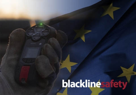Blackline Safety announces new EU subsidiary, opening distribution facility in France (Graphic: Business Wire)