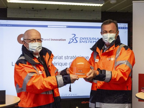 Bouygues Construction and Dassault Systèmes expand their partnership to speed up digital transformation in the construction industry (Photo: Dassault Systèmes)