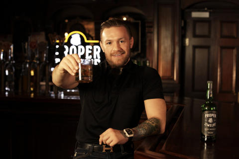 Conor McGregor and Proximo Reach Long-Term Agreement to Continue Proper No. Twelve Irish Whiskey Collaboration (Photo: Business Wire)