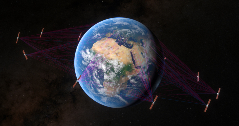 SES?s Next-Gen NGSO System Readies for Launch with 8 Initial O3b mPOWER Satellite Ground Stations (Photo: Business Wire)