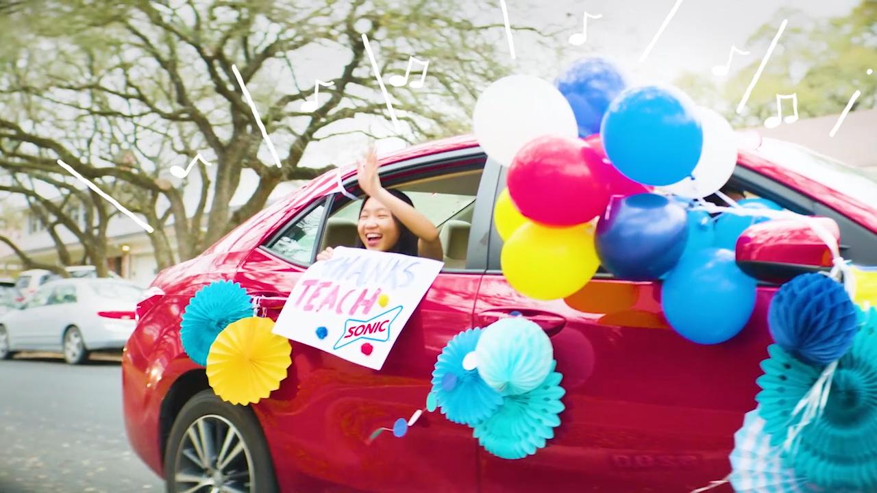 SONIC Drive-In Celebrates Teacher Appreciation Month