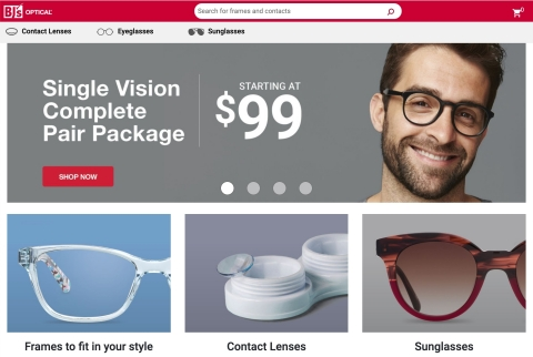 BJ's Wholesale Club launches a new online shopping experience for BJ's Optical, which allows shoppers to purchase sunglasses and prescription eyewear on Optical.BJs.com. (Photo: Business Wire)