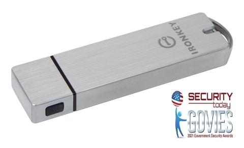 Kingston 's IronKey S1000 encrypted USB flash drive (Graphic: Business Wire)