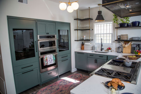 As part of the partnership, Monogram designed the kitchen layout for The LEE Initiative (Photo: GE Appliances, a Haier company)