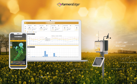 This innovative digital product will help Canadian farmers protect the substantial investment in their canola crop while mitigating the financial damage that an extreme heatwave can have on yields. (Graphic: Business Wire)