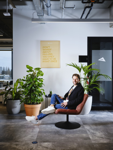 MessageBird Founder and CEO Robert Vis (Photo: Business Wire)