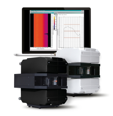 The new MP Linescanners can measure up to 1024 temperature points across a scan line at a rate of up to 300 lines per second, allowing manufacturers to better control their continuous moving processes, automate temperature measurements, and ensure product quality. (Photo: Business Wire)