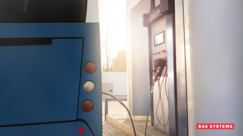BAE Systems and Plug Power will work together to offer transit operators an all-inclusive, scalable system to reach zero emissions, providing hydrogen-based site, vehicle, and service solutions. Photo credit: BAE Systems (Photo: Business Wire)