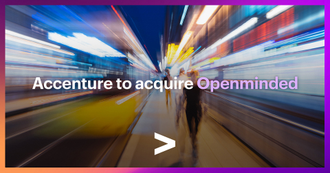 Accenture to acquire Openminded (Graphic: Business Wire)