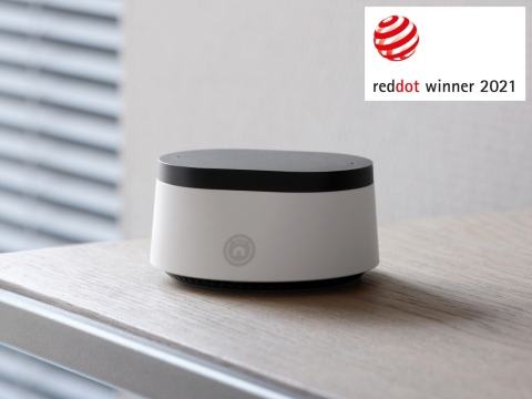 Universal Electronics Inc. (UEI) (NASDAQ: UEIC), the global leader in wireless universal control solutions for home entertainment and smart home devices, has received a Red Dot Award, one of the most prestigious international design awards, in the Product Design category for its Nevo® Butler entertainment and smart home hub. (Photo: Business Wire)
