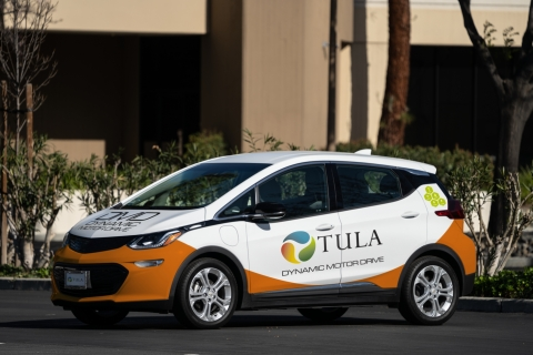 Tula Technology's DMD™ prototype test vehicle improves efficiency while dramatically reducing the need for rare earth materials in battery electric vehicles. (Photo: Business Wire)