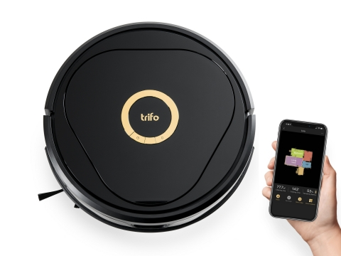 Trifo Lucy AI Home Robot, the first robot cleaner to interact and learn the entire home environment using innovative AI technology (Photo: Business Wire)