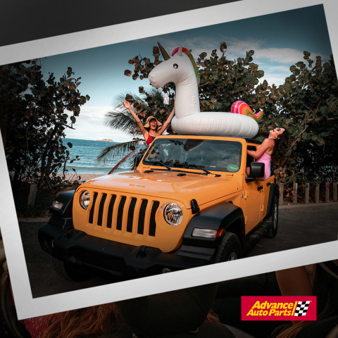 Visit your local Advance Auto Parts to get your car road trip ready for summer adventures (photo courtesy of Discover Puerto Rico).