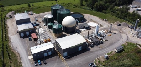StormFisher Environmental Food Waste Digester in London, Ontario named Project of the Year by the Canadian Biogas Association. (Photo: Business Wire)