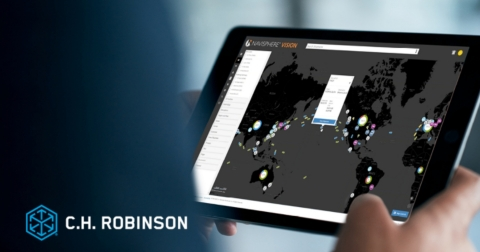 C.H. Robinson's Navisphere Vision platform helps shippers track, monitor, and respond to supply chain disruptions on a global scale. (Photo: Business Wire)