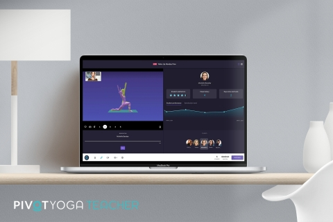 PIVOT Yoga Teacher reimagines online teaching with powerful tools never before available. (Graphic: Business Wire)