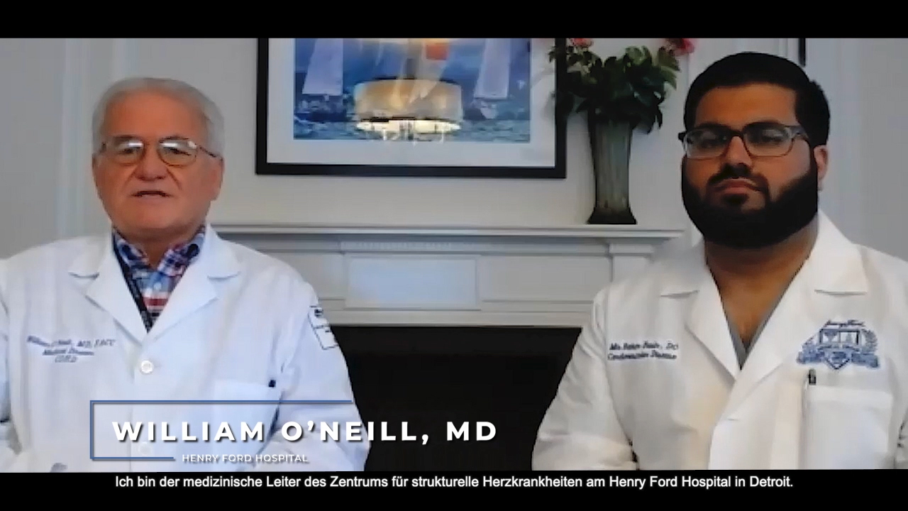 Dr. Babar Basir and Dr. Bill O'Neill Present Final Results from the National Cardiogenic Shock Initiative (NCSI) Study