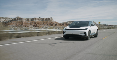 Velodyne Lidar announced it has been selected by Faraday Future (FF) as the exclusive supplier of lidar for Faraday's flagship FF 91 all-electric vehicle (EV). (Photo: Faraday Future)
