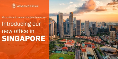 Advanced Clinical expands global presence to Singapore (Graphic: Business Wire)