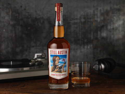 "Still Austin Whiskey Co., a homegrown distillery situated in the heart of South Austin, is thrilled to announce that ""The Musician"" straight bourbon whiskey was awarded a Double Gold medal at the 2021 San Francisco World Spirits Competition. (Photo: Business Wire)"