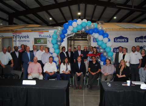 GRS staff attend the ribbon cutting (Photo: Business Wire)