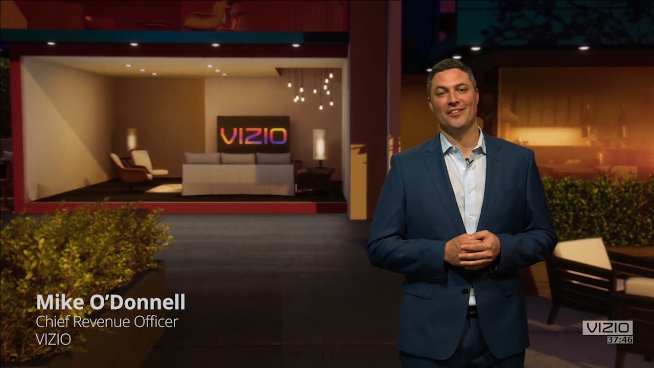 VIZIO Offers Media Buyers Fresh Look at TV Ad Innovations in Its First IAB NewFronts Presentation (Event Preview)