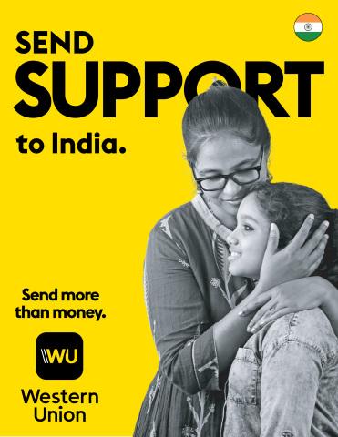 ウエスタンユニオンがインドのCOVID救援を支援(画像:ビジネスワイヤ)