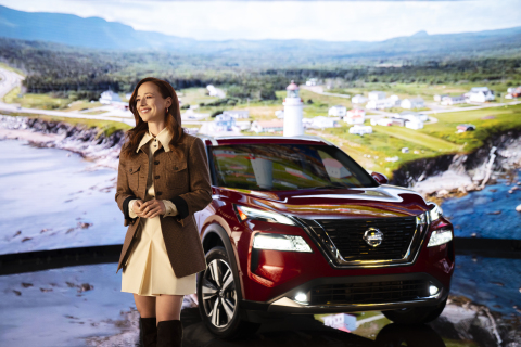 Karine Vanasse et le tout nouveau Nissan Rogue 2021