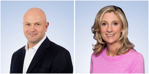 Shionogi expanded the leadership roles of executive vice president Nathan McCutcheon and senior vice president Gianine Esposito. (Photo: Business Wire)