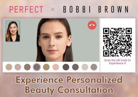 Perfect Corp. partners with Bobbi Brown Cosmetics for personalized consultation experience (Graphic: Business Wire)