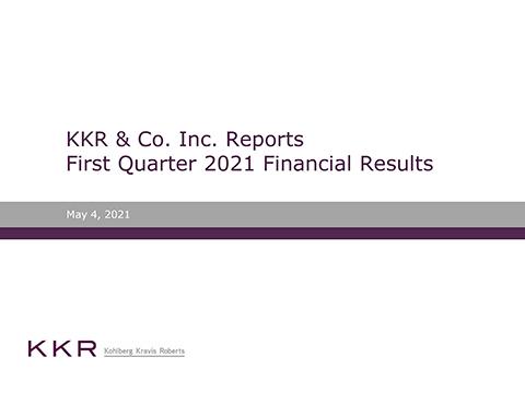 KKR Q1'21 Earnings Release