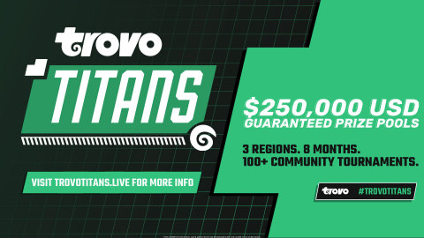 Trovo Titans will feature more than 100 community esports events starting in May. (Graphic: Business Wire)