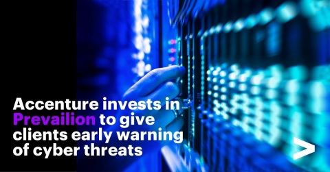 Accenture invests in Prevailion to give clients early warning of cyber threats (Photo: Business Wire)