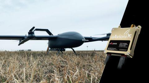 A recent flight demonstration in North Dakota using the uAvionix SkyLine C2 infrastructure and ping200X transponder. (Source: uAvionix)