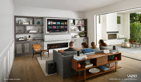 VIZIO Expands Lifestyle Programming With 10 Free Channels on SmartCast™ TVs