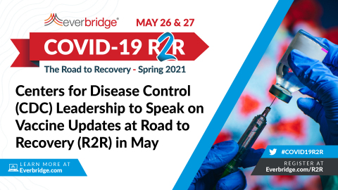 Everbridge COVID-19: Road to Recovery (R2R) Symposium, May 26-27, 2021 (Graphic: Business Wire)
