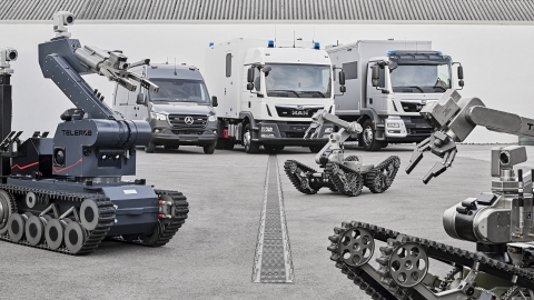 AeroVironment completes acquisition of Telerob, a leader in ground robotic solutions, to expand multi-domain robotic systems offering and global presence. (Photo: AeroVironment, Inc.)