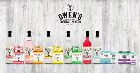 Owen's Craft Mixers Full Lineup (Photo: Business Wire)