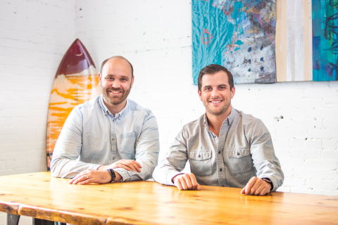 Owen's Craft Mixer's Founders Tyler Holland (left) and Josh Miller (right). (Photo: Business Wire)