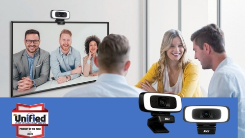 AVer's CAM130 wins 2021 Product of the Year. (Photo: Business Wire)