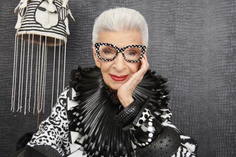 Zenni Partners with Eyewear Icon Iris Apfel. (Photo: Business Wire)