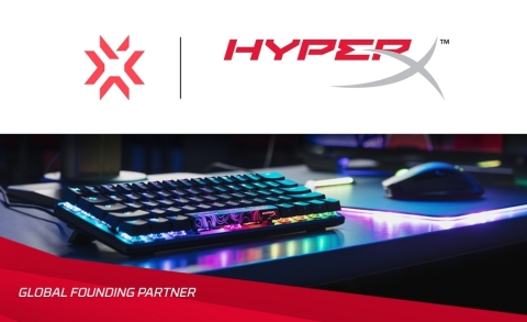 HyperX Becomes a Global Founding Partner for Riot Games' VALORANT Champions Tour (Graphic: Business Wire)
