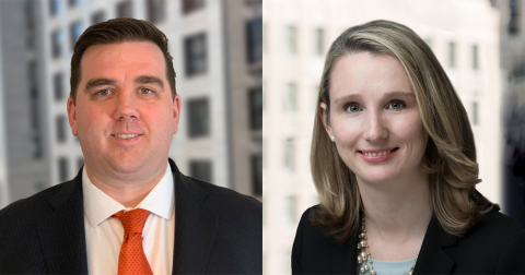 MichaelStephens, CFP®, VP and Investment Officer, and Sarah Grandfield, JD, VP and Trust Counsel at Fiduciary Trust Company (Photo: Business Wire)