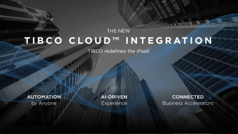TIBCO Redefines the iPaaS Landscape with Advanced Automation Capabilities (Graphic: Business Wire)